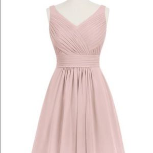 Azazie Grace dusty rose bridesmaid or prom dress